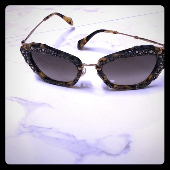 f0a3ab2cabb Authentic Miu Miu Sunglasses 😎. M 5b9bda9145c8b3530d3c5506. Other  Accessories ...